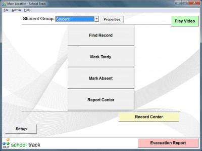 School Track Student Attendance Software 6.0 screenshot