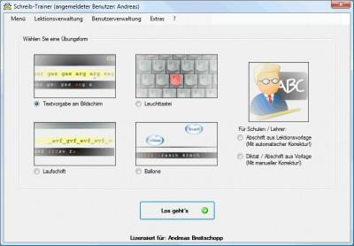 Schreib-Trainer 4.1.6 screenshot
