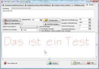Schrift 2 DXF und G-Code 3.5 screenshot