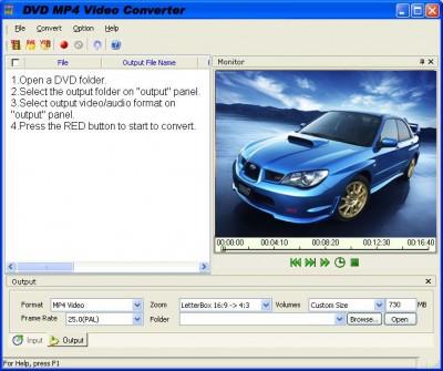 SCI CONVERT DVD TO MP4 2011.1105 screenshot