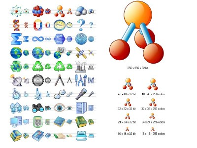 Science Icon Set 3.8 screenshot