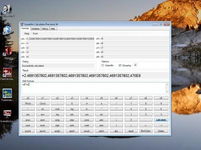 Scientific Calculator Precision 54 1.0.1.9 screenshot