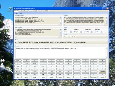 Scientific Calculator Precision 63 1.0.1.8 screenshot