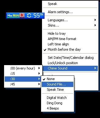 SClock Plus 1.7 screenshot