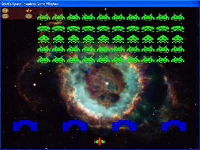 Scott's Space Invaders 1.9 screenshot