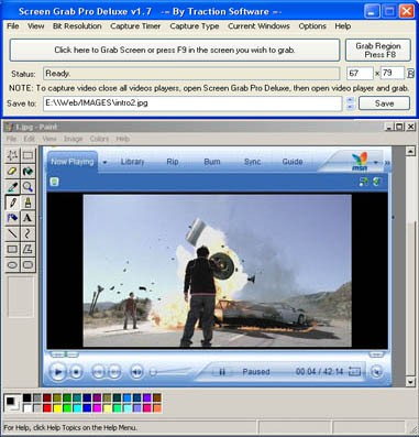 Screen Grab Pro Deluxe 2.02 screenshot