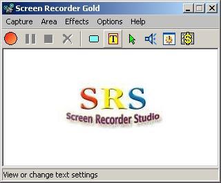 Screen Recorder Gold 2.6 screenshot