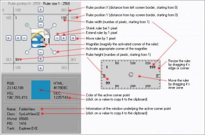 Screen Ruler 2D 1.16 screenshot