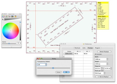 Screen Ruler Professional 6.0.0.1 screenshot