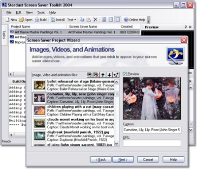 Screen Saver Toolkit 4.5.0.207 screenshot