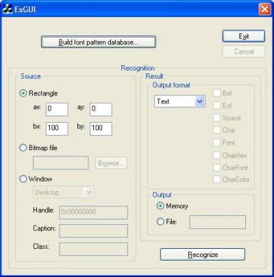 Screen Text OCR SDK Library 18.1 screenshot