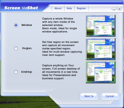 Screen VidShot 3.5.30 screenshot