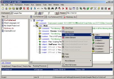 Script Editor 2.1 screenshot