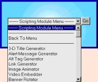 Scripting Modules 2.1 screenshot