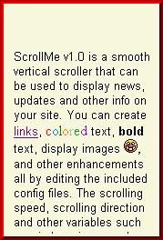 ScrollMe 1.1 screenshot