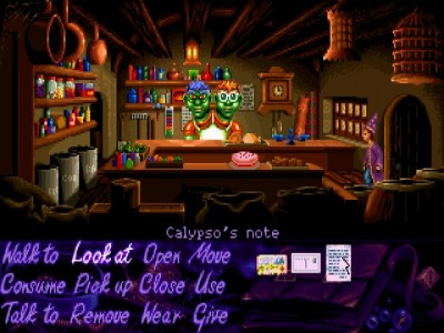 ScummVM 0.9.1 screenshot