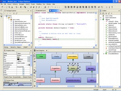 SDE for Eclipse (CE) for Windows 3.0 Commun screenshot