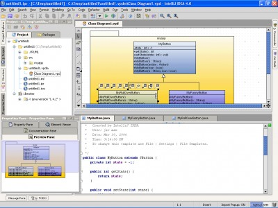 SDE for IntelliJ IDEA (SE) for Mac OS X 3.3 SP1 St screenshot