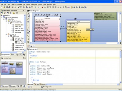 SDE for JDeveloper (ME) for Windows 3.0 Modele screenshot