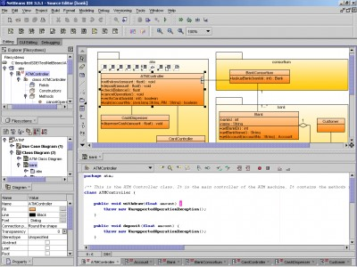 SDE for NetBeans (CE) for Windows 3.0 Commun screenshot