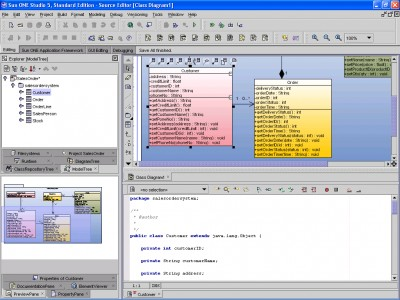 SDE for Sun ONE (PE) for Linux 4.2 screenshot