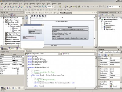 SDE for Visual Studio .NET (ME) for Windows 3.0 Modele screenshot
