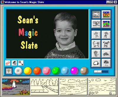 Sean's Magic Slate 1.7 screenshot