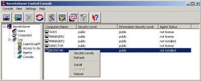 SecretsSaver Corporate 4.2 screenshot