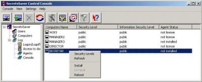 SecretsSaver 3.05 screenshot