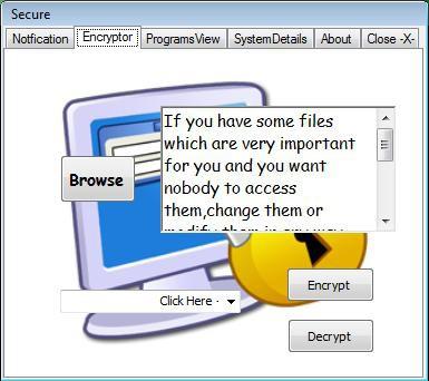 Secure 2.0 screenshot