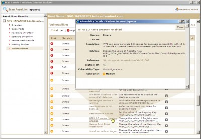 SecureCentral ScanFi Free Edition 4.1 screenshot