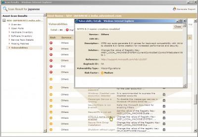 SecureCentral ScanFi Free Edition 4.1 screenshot