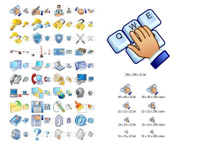 Security Icon Set 2011.1 screenshot