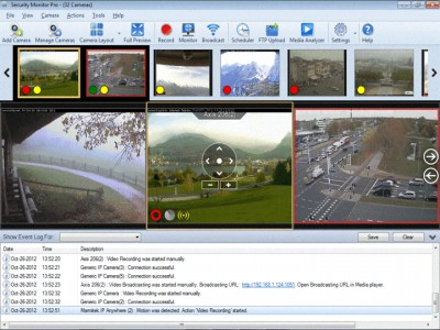 Security Monitor Pro 5.49 screenshot