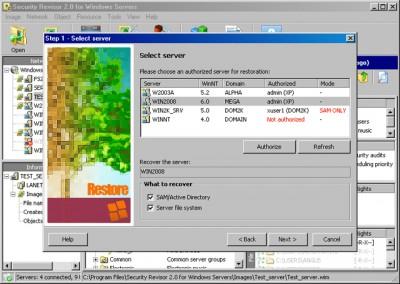 Security Revisor for Windows Servers 2.2 screenshot