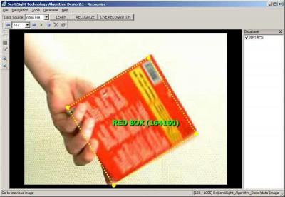 SentiSight algorithm demo (for Windows) 2.0 screenshot