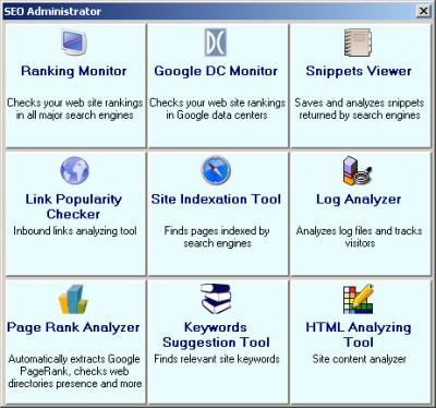 SEO Administrator 5.2 screenshot