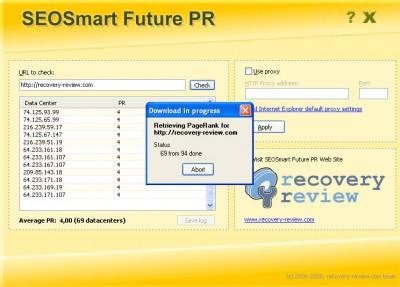 SEOSmart Future PR 1.5 screenshot