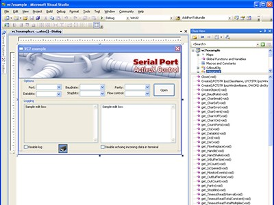 Serial Port ActiveX Control 4.0 screenshot