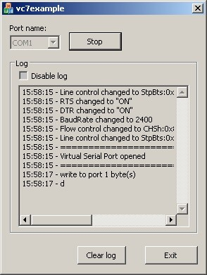 Serial Port Sniffer ActiveX Control 1.0 screenshot