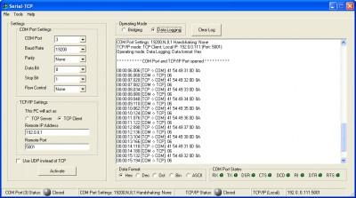 Serial TCP 1.1 screenshot