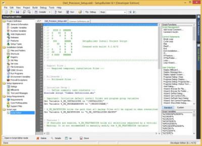 SetupBuilder 10.0.6275 screenshot