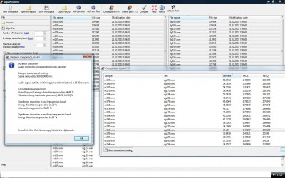 Sevana Vocoders Quality Checker 1.1 screenshot