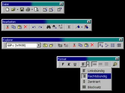 sevCoolbar ActiveX für VB 5.0 1.0.0.8 screenshot