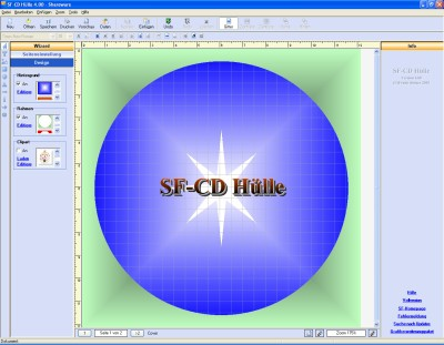 SF CD Hülle 9.00 screenshot