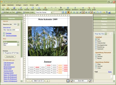 SF Kalender 14.00 screenshot