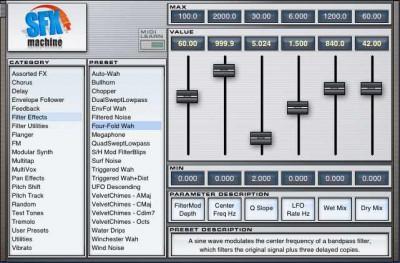 SFX Machine RT for Macintosh 1.0.8 screenshot