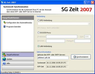 SG Zeit 2007 Rel. 16 screenshot