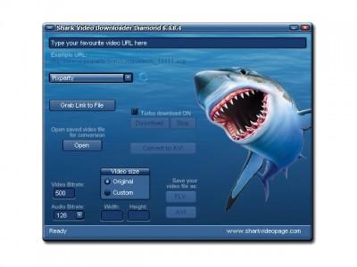 Shark Video Downloader Diamond 6.4.9.3 screenshot