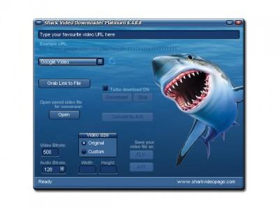 Shark Video Downloader Platinum 6.4.9.1 screenshot